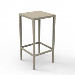 Table haute Spritz, Vondom ecru