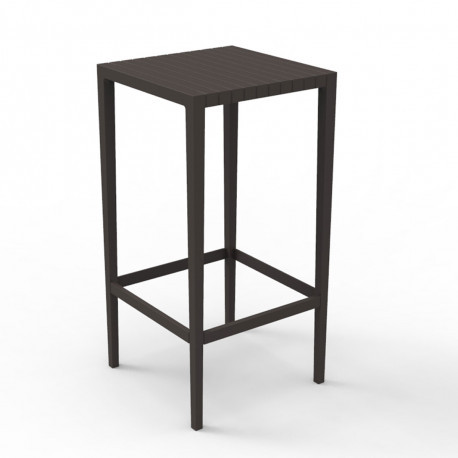 Table haute Spritz, Vondom bronze
