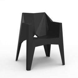 Chaise futuriste Voxel, Vondom noir