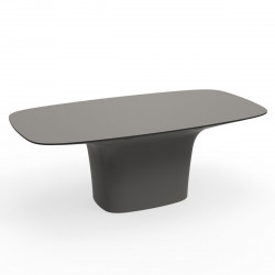 Table Ufo, Vondom taupe Longueur 200 cm