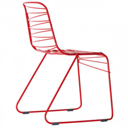 Chaise Flux, Magis rouge