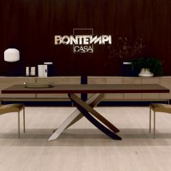 Table Sculptura en bois Chêne spessart 190/240/290x90 cm
