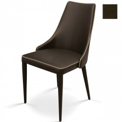 Chaise Dolce marron