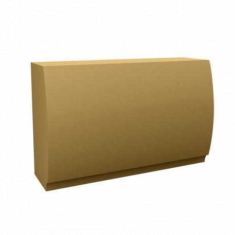 Banque d'accueil Round, élément droit, Proselec beige Mat