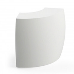 Elément d'angle Bar Igloo, Pedrali blanc Mat