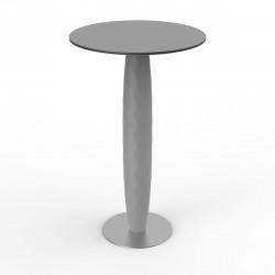Table haute Vases, Vondom acier Diamètre 60 cm