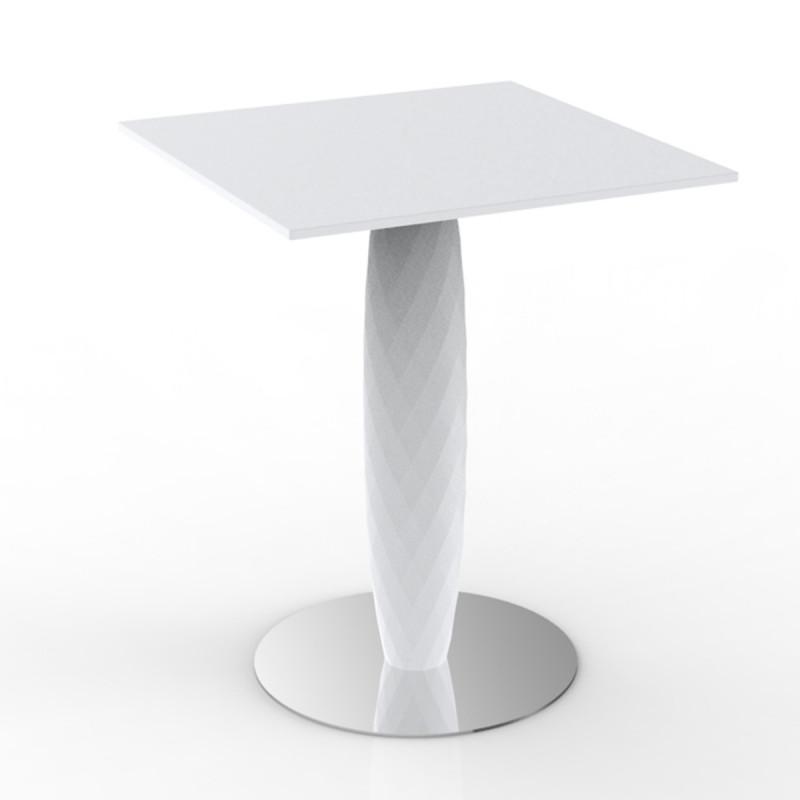table haute vases vondom blanc diam tre 60 cm cerise sur la deco. Black Bedroom Furniture Sets. Home Design Ideas