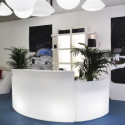 Module Ice Bar lumineux, Slide Design blanc
