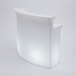 Break Bar lumineux, Slide Design blanc