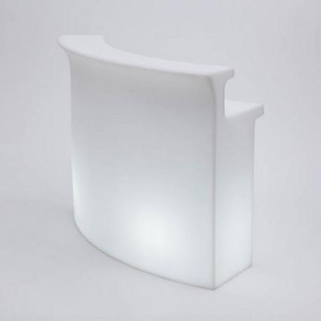Break Bar lumineux, Slide Design blanc