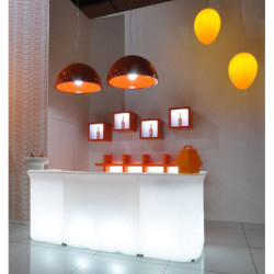 Break Line Bar lumineux, Slide Design blanc