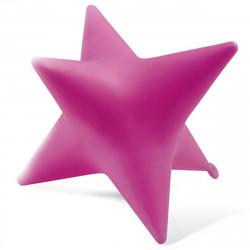 Tabouret lumineux Starlight, Slide design fuchsia