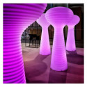 Lampadaire Bloom, Vondom blanc Lumineux LED RGB