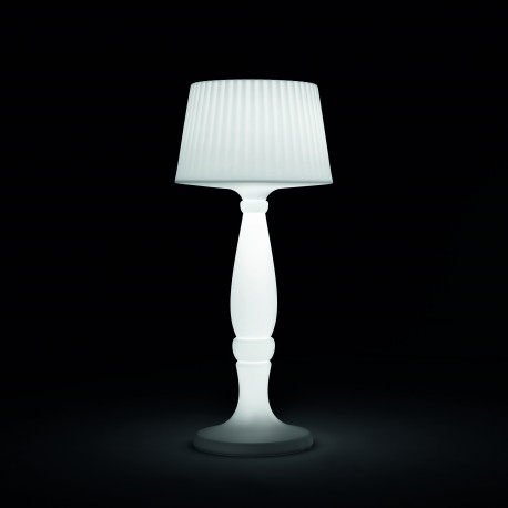Lampadaire Agata Outdoor, MyYour blanc