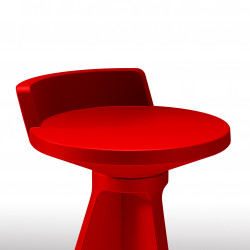 Tabouret Oxford, MyYour rouge