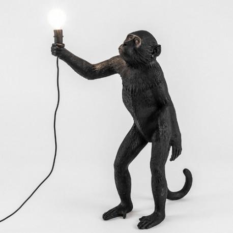 Lampe à poser Monkey Standing, Seletti noir