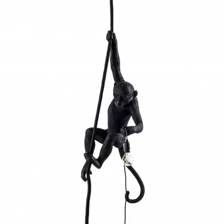 Suspension Monkey Ceiling, Seletti noir