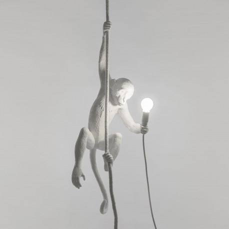 Suspension Monkey Ceiling, Seletti blanc