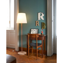 Lampadaire Ali Baba Wood, Slide Design bois Taille L