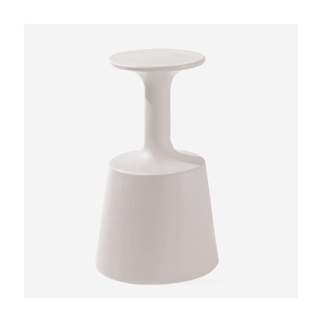 Tabouret de Bar Drink, Slide Design Blanc
