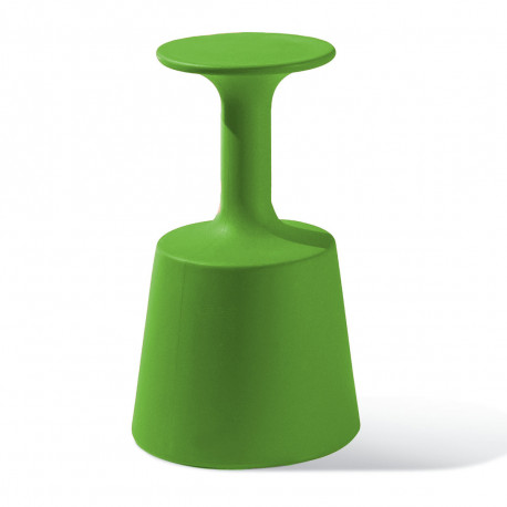 Tabouret de Bar Drink, Slide Design Vert