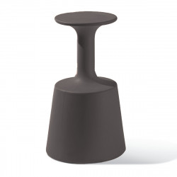 Tabouret de Bar Drink, Slide Design Gris