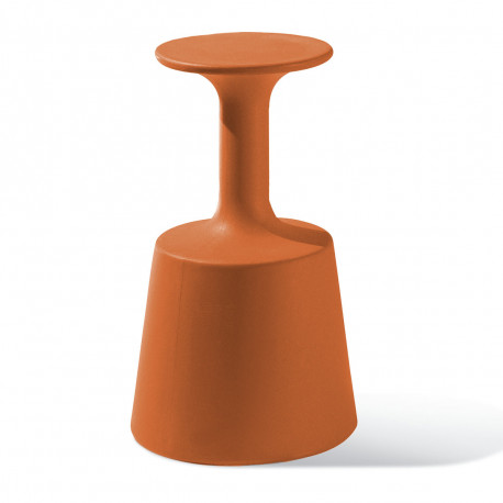 Tabouret de Bar Drink, Slide Design Orange