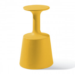 Tabouret de Bar Drink, Slide Design Jaune