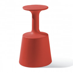 Tabouret de Bar Drink, Slide Design Rouge