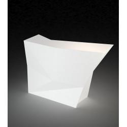 Bar latéral Faz, Vondom blanc Lumineux LED RGB fil