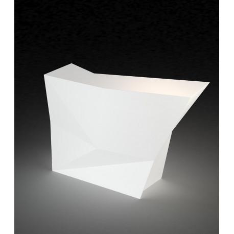 Bar latéral Faz, Vondom, Lumineux LED RGBW à batterie