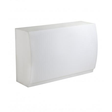 Module droit Bar Design Fiesta, Vondom blanc Mat