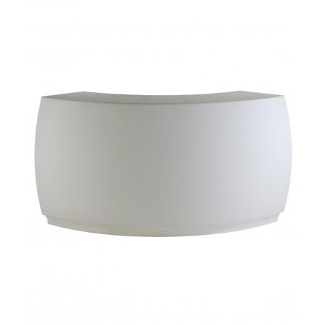 Module courbe Bar Design Fiesta, Vondom blanc Mat