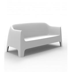 Canapé Solid sofà, VONDOM Blanc