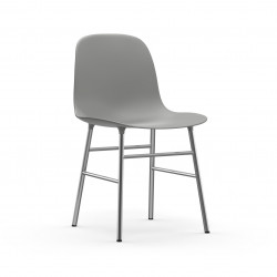 Form Chair Chrome, Normann Copenhagen Gris