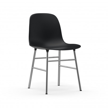 Form Chair Chrome, Normann Copenhagen Noir