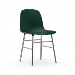 Form Chair Chrome, Normann Copenhagen Vert