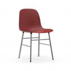 Form Chair Chrome, Normann Copenhagen Rouge
