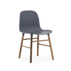 Form Chair Noyer, Normann Copenhagen Noir Cerise sur la Deco