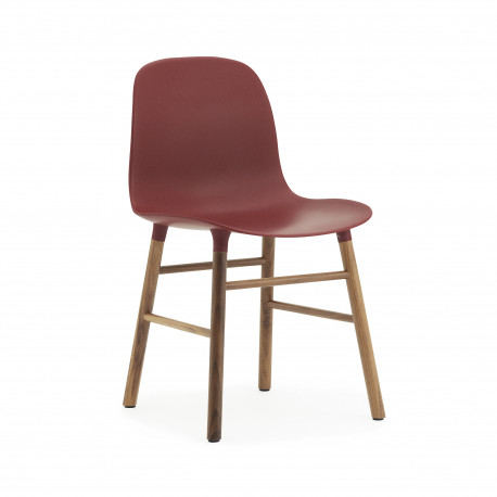Form Chair Noyer, Normann Copenhagen Rouge