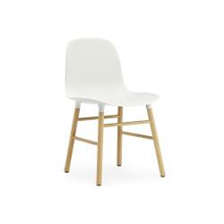 Form Chair Chêne, Normann Copenhagen Blanc