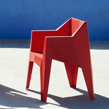 Chaise futuriste Voxel, Vondom Rouge