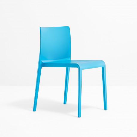 Chaise Volt 670, Pedrali, Bleu