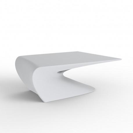 Table basse design Wing, Vondom Blanc Mat