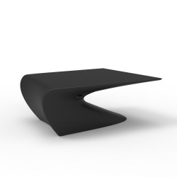 Table basse design Wing, Vondom Noir Mat
