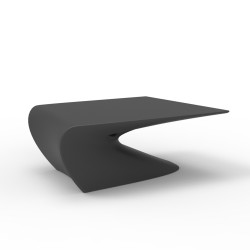 Table basse design Wing, Vondom Anthracite Mat