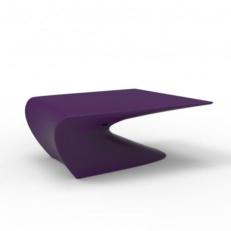 Table basse design Wing, Vondom Violet Mat