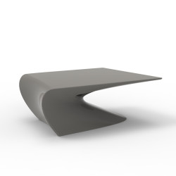 Table basse design Wing, Vondom Taupe Mat