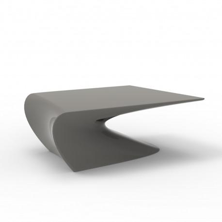Table basse design Wing, Vondom Taupe Mat