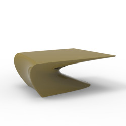 Table basse design Wing, Vondom Kaki Mat